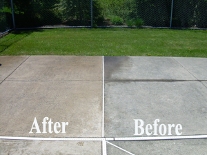 How To Clean Outdoor Stained Concrete